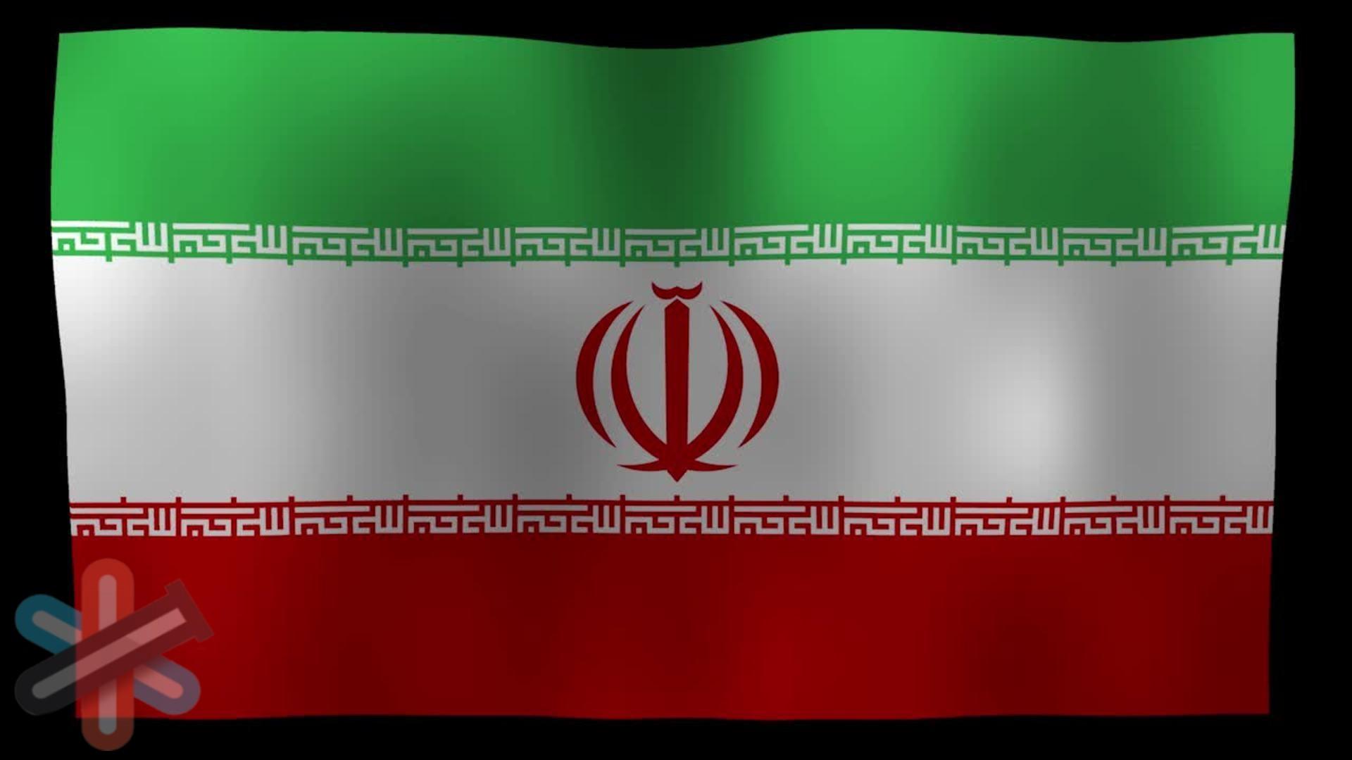 ویدیو حرکت پرچم ایران برای افتر افکت 1