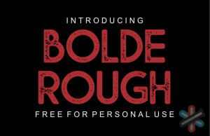 دانلود فونت Bolde Rough