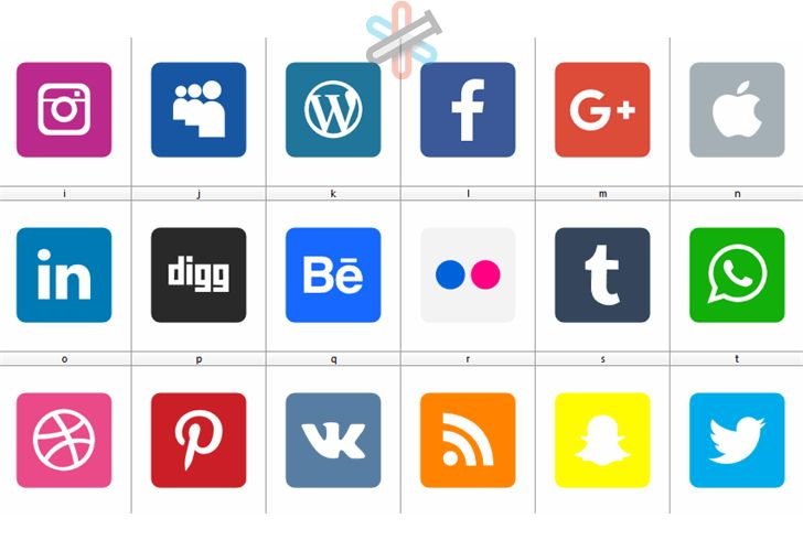 دانلود فونت Social Media 2019 1
