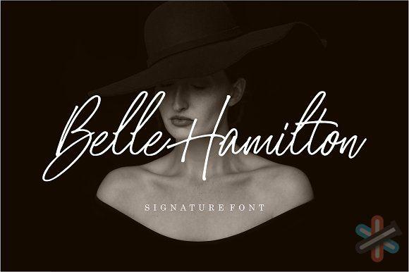 دانلود فونت Belle Hamilton 1