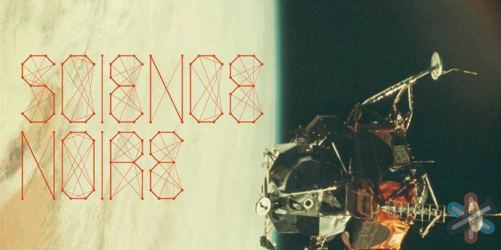 دانلود فونت Science Noire 1