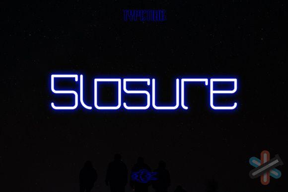 دانلود فونت Slosure 1