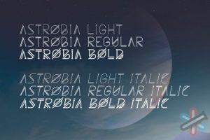 دانلود فونت Astrobia Family