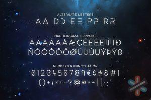 دانلود فونت Equinox Typeface