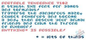 دانلود فونت Portable Vengeance