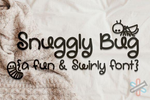 دانلود فونت Snuggly Bug
