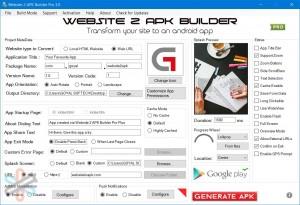دانلود نرم افزار Website 2 APK Builder Pro 3.4 | تبدیل سایت به اپ اندروید