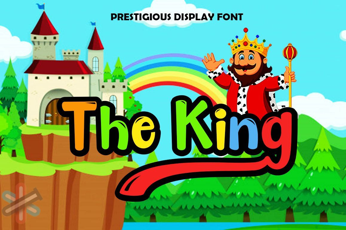 دانلود فونت The King