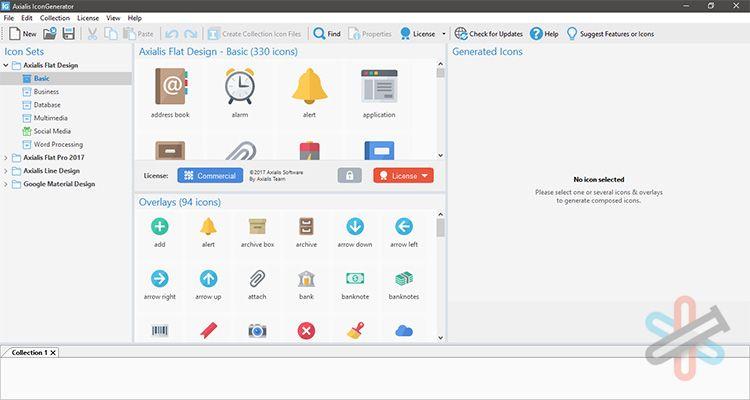 دانلود نرم افزار Axialis IconGenerator Pro v1.6 – ساختن و طراحی آیکون