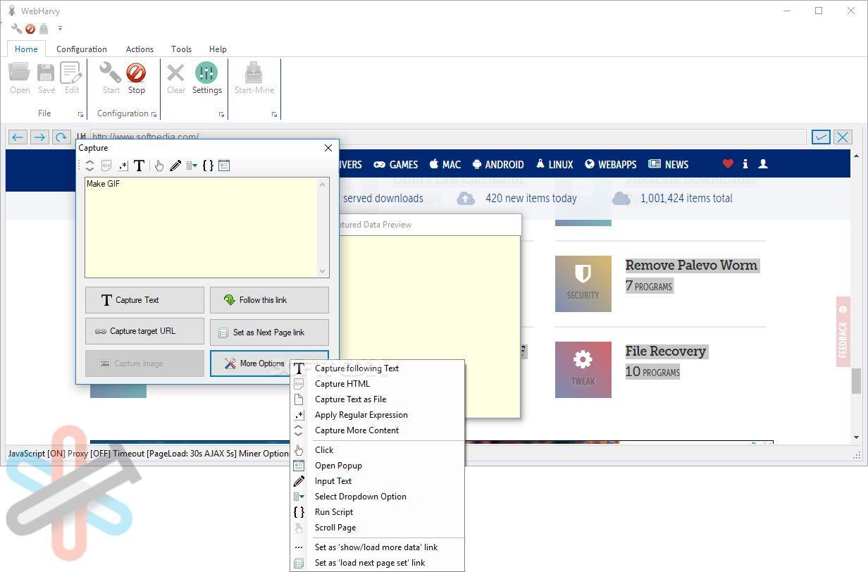 نرم افزار WebHarvy برای کامپیوتر – قدرتمندترین نرم افزار وب اسکرپ بصری