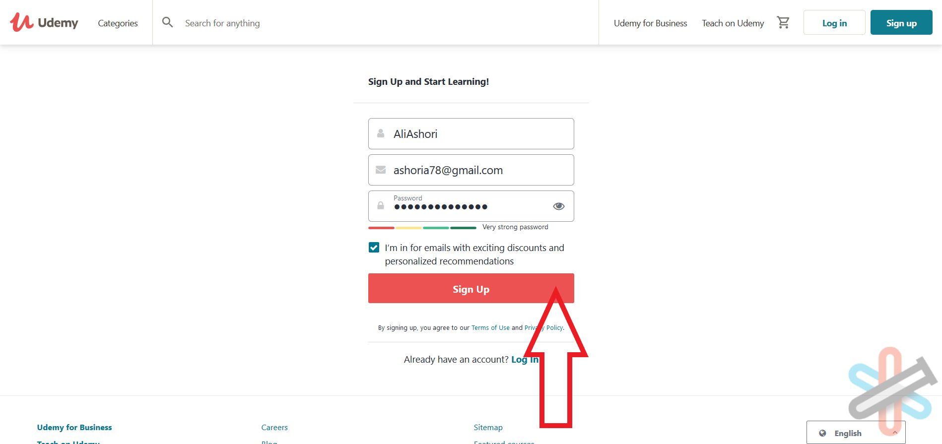آموزش دریافت رایگان از سایت یودمی (Udemy) + ساخت اکانت 4