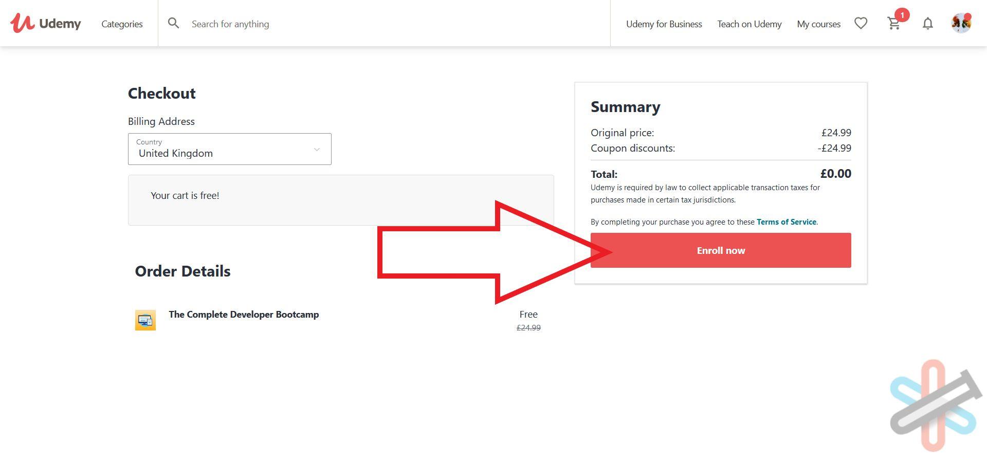 آموزش دریافت رایگان از سایت یودمی (Udemy) + ساخت اکانت 10