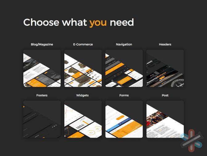 دانلود مجموعه محبوب از رابط کاربری وب – Web Ui Kit