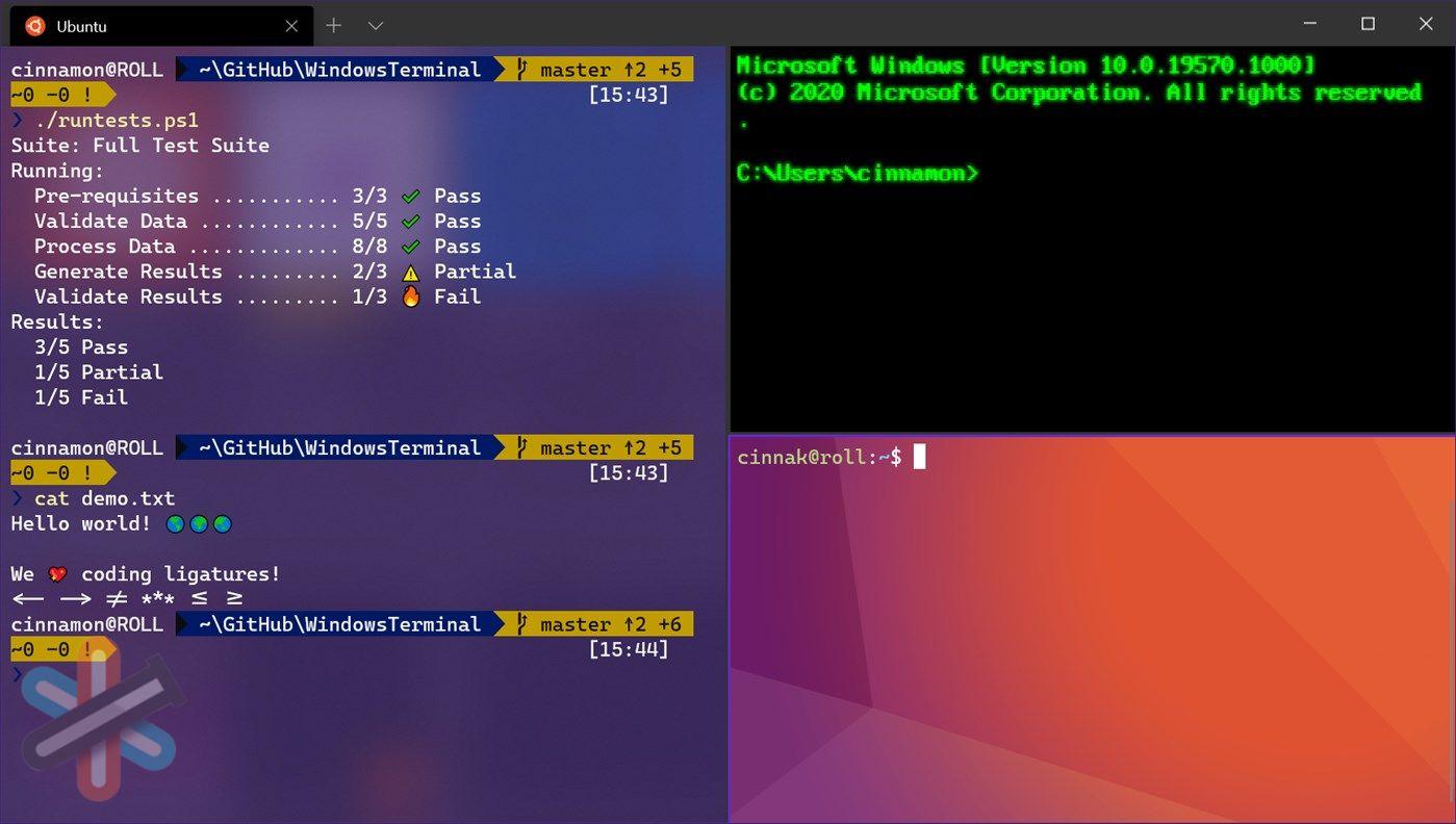 دانلود نرم افزار ترمینال برای ویندوز – Windows Terminal