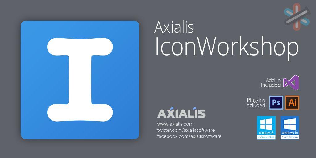 دانلود نرم افزار Axialis IconWorkshop Pro v6.9.1.0 - طراحی و مدیریت آیکون 1