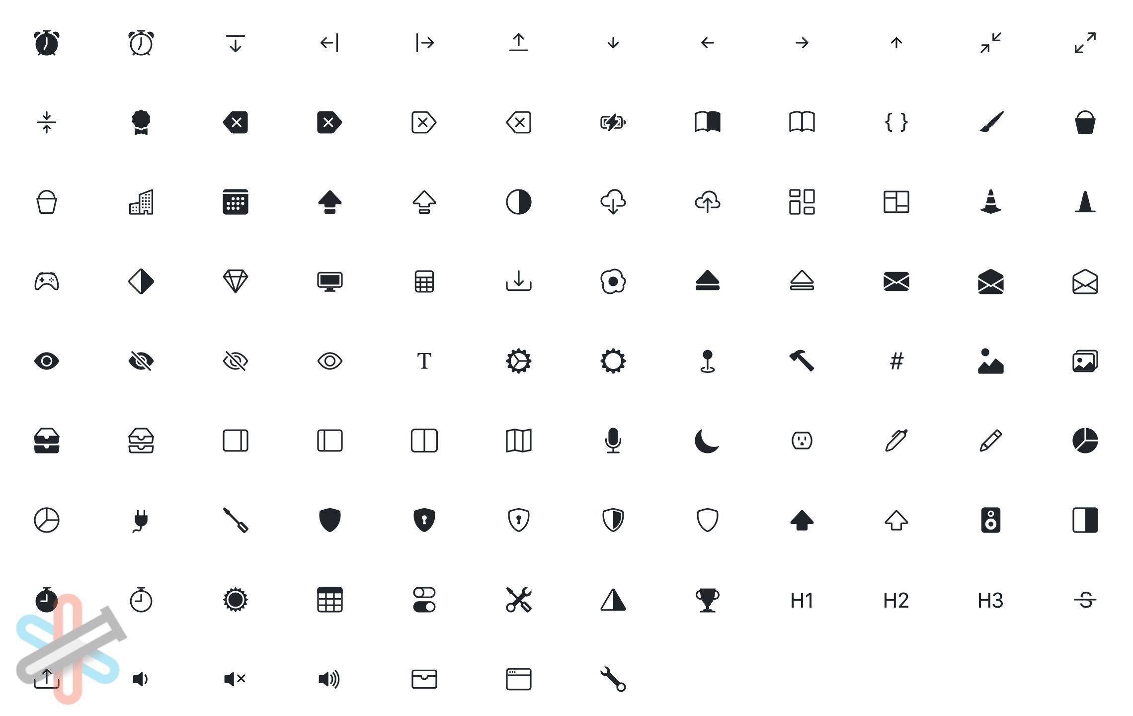 دانلود کتابخانه آیکون های Bootstrap Icons